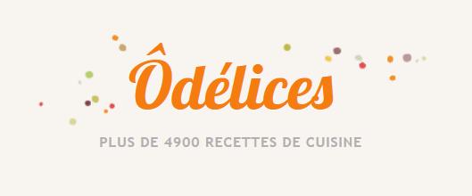 logo du site de cusiine Odelices.com
