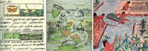 Peinture Aztèques